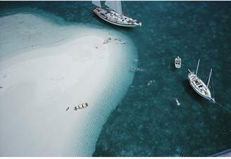"Jonathan Adler Slim Aarons ""Stocking Island, Bahamas"" Photograph"