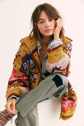 Fp Collection Isle Of Skye Sweater Coat