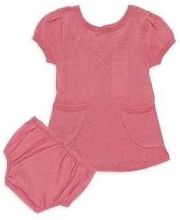 Splendid Baby Girl's Two-Piece Knit Dress& Bloomers Set