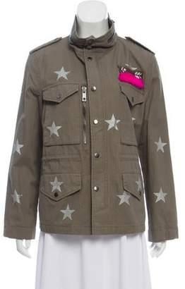 Jocelyn Star Print Lightweight Jacket w/ Tags