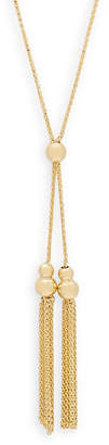 Saks Fifth Avenue 14K Tassel Necklace
