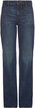HELMUT LANG High-rise flared jeans $320 thestylecure.com