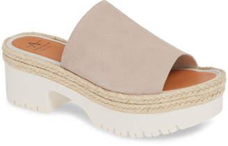Aquatalia Whitney Espadrille Platform Sandal