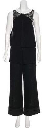 Chanel Wool Jumpsuit