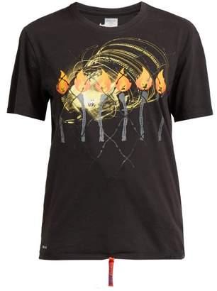 Noki - Customised Street Couture T Shirt - Womens - Black Multi