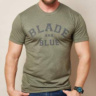 Blade + Blue Olive Green Tee