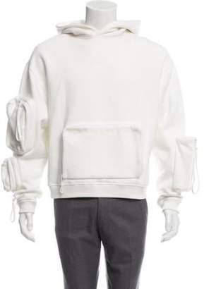 Louis Vuitton 2019 Utility Hooded Sweatshirt white 2019 Utility Hooded Sweatshirt