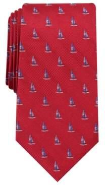 Club Room Men's Schooner Neat Tie, Created for Macy's