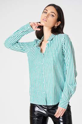 Rut & Circle Rut&Circle Ina Striped Shirt Blue Stripe