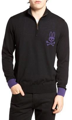Men's Psycho Bunny Quarter Zip Pullover $150 thestylecure.com