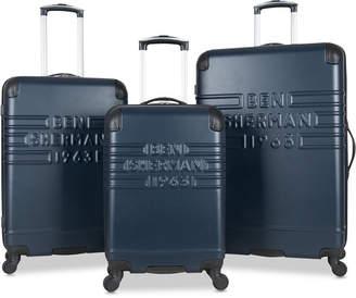 Ben Sherman (ベン シャーマン) - Ben Sherman Ripon 3-Pc. Hardside Wheeled Luggage Set