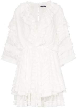 Faith Connexion layered lace mini dress