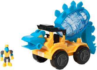 Educational Insights Dino Construction Company Cement Mixer Toy