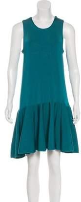 Issa Pleated Mini Dress