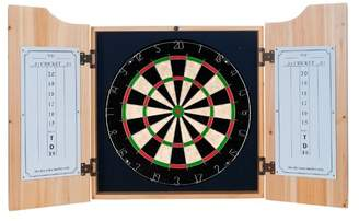 Guinness Trademark Global Toucan Dartboard and Cabinet Set