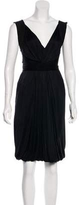 Alberta Ferretti Sleeveless Knee-Length Dress