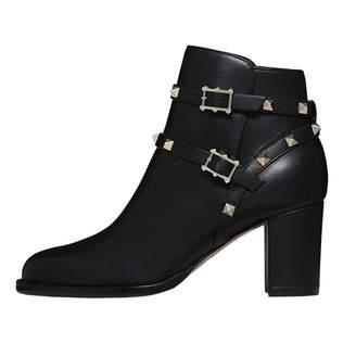 2660fafee37 VOCOSI Women s Rivets Ankle Booties Block Heel Pointed Toe Stud Dress Boots  9 US