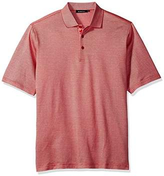 Bugatchi Men's Devon Short Sleeve Polo Shirt