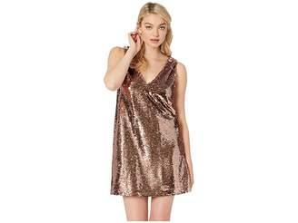 BB Dakota Sparkle Motion Sequin Dress