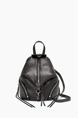 Rebecca Minkoff Leather Convertible Mini Julian Backpack