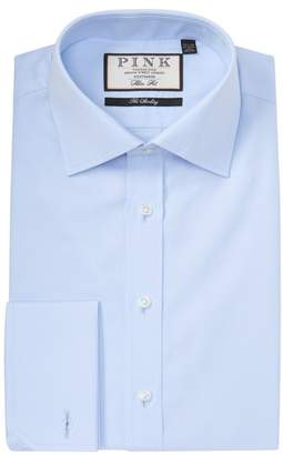 Thomas Pink Frederick Poplin Slim Fit Dress Shirt