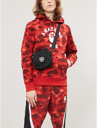 59cc8bd8862d A Bathing Ape Camouflage-print logoed cotton-jersey hoody