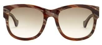 Balenciaga Women's 54mm Squared Sunglasses
