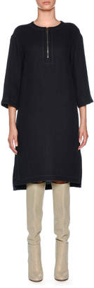 Agnona Double Linen Tunic