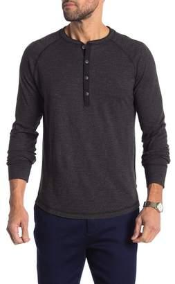 Good Man Brand Stripe Knit Henley