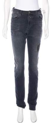 Closed Mid-Rise Distressed Jeans