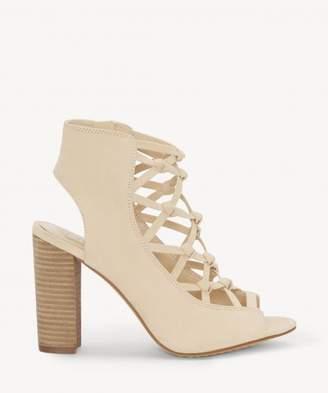 Sole Society Stesha Corset Block Heel Sandal