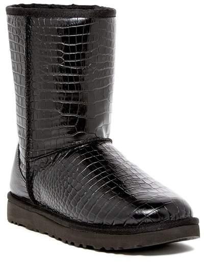 UGGUGG Australia Classic Short Croco UGGpure(TM) Lined Boot