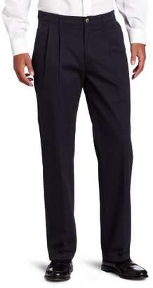 Lee Men's Big Tall Comfort-Waist Custom-Fit Pleated Pant