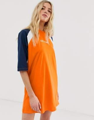 The Ragged Priest oversized t-shirt dress with slogan 0cc3fbef7