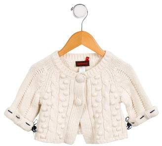 Catimini Girls' Cable Knit Cardigan w/ Tags