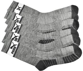 Puma 3-Pack 1/2 Terry Crew Socks