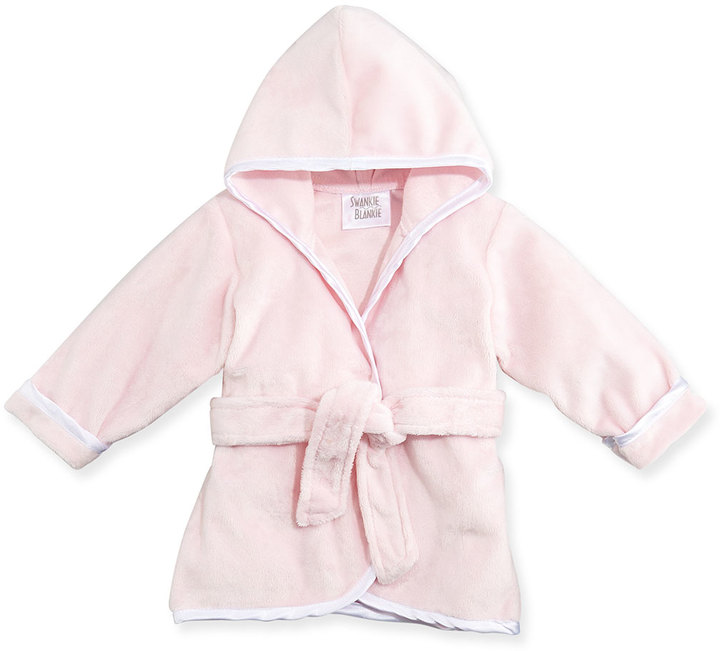 Swankie Blankie Infant Plush Robe, Pink