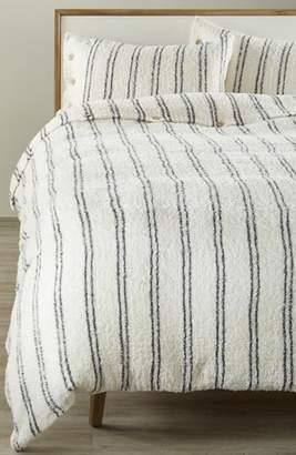 Barefoot Dreams R) CozyChic(R) Vertical Stripe Duvet Cover & Shams