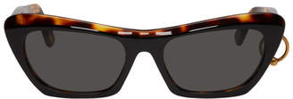Acne Studios SSENSE Exclusive Black and Tortoiseshell Azalt Sunglasses