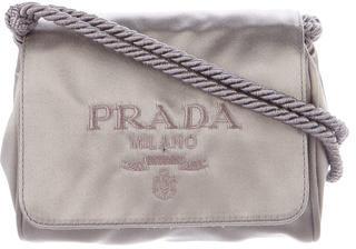 pradaPrada Satin Flap Bag