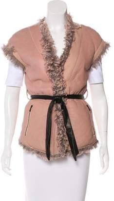Drome Shearling Reversible Vest w/ Tags