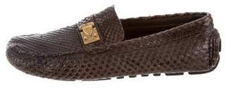Louis Vuitton Python Hockenheim Loafers