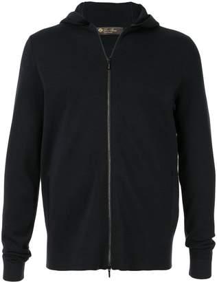Loro Piana zip-up hoodie