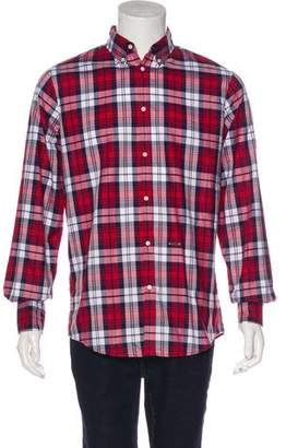 DSQUARED2 2016 Plaid Button-Up Shirt w/ Tags
