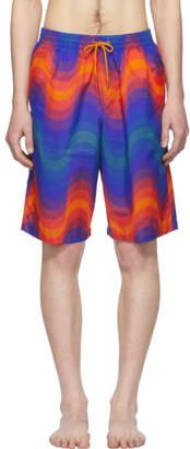 0eb7272730 Dries Van Noten Orange Verner Panton Edition Phibbs Long Swim Shorts