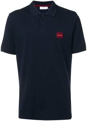 Calvin Klein refined pique polo shirt