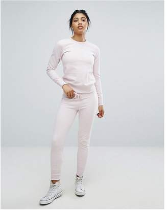 Converse Essential Joggers In Pink