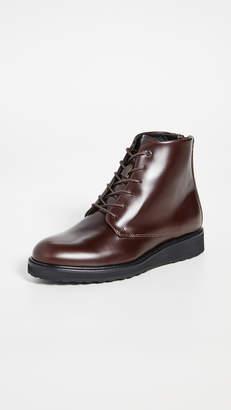 WANT Les Essentiels Menara High Wedge Derby Boots