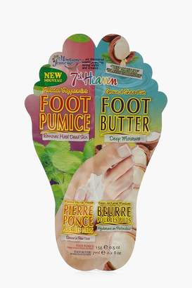 boohoo Deep Moisturising Peppermint Foot Sock