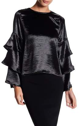 Gracia Tiered Bell Sleeve Top
